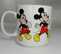 Disney Mickey Mouse Coffee Tea Mug Walking Animation Made in Korea