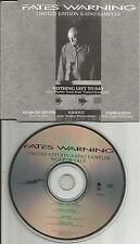 FATES WARNING Ultra Rare 1989 4 Trk CAREER TOUR SAMPLER PROMO DJ CD single USA