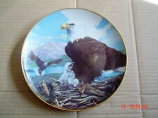 Fingerhut Corp Collectors Plate MY PRIDE MY LOVE Eagle And Chicks