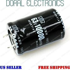 10000uF 63V 30x45mm Capacitor Electrolytic Audio 10000 UF MFD 10000mfd 63 volt