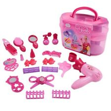 Pretend Play Cosmetic Toy Set Kit for Little Girls Kids 19Pcs Beauty Toys vbn