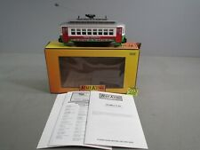 RAIL KING M.T.H. CRISTMAS BUMP-N-GO TROLLEY ITEM #30-2583 NEW O.B.