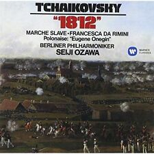 Tchaikovsky 1812 Marche Slave Seiji Ozawa Audio CD
