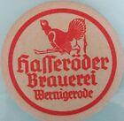 alter Bierdeckel Brauerei HASSERÖDER, Wernigerode 🍺 H-19-1
