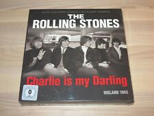 ROLLING STONES 2 CD DVD BLU-RAY BOX - CHARLIE IS MY DARLING in NEU SEALED
