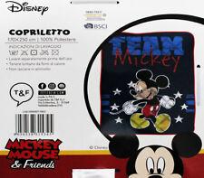 Copriletto Trapuntato Trapuntino Letto Singolo 1 piazza Topolino Mickey Mouse