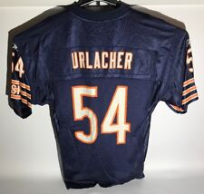 Brian Urlacher Chicago Bears Jersey #54 Home Size Mens M Reebok NFL Hall of Fame