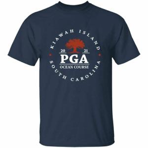 Kiawah Island 2021 PGA Ocean Course Golf Championship Men's T-Shirt Navy S-4XL