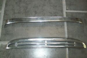Austin Healey 100/6 3000 hood/ bonnett chrome grille  and moulding as per photos