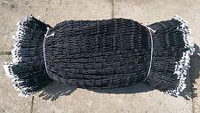 4mm Black Braided Pot Netting Fishing Trawler Nets  FREE DELIVERY