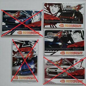 Wangan Maximum Tune 5 - One x Unused Bana Passport IC Card - Max Tune 4 Designs