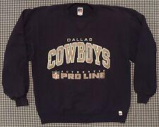 824e2299e Vintage Dallas Cowboys NFL Proline Authentic Sweatshirt Size Large NFC East  Blue