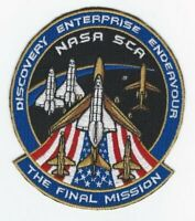 The Final Mission - Nasa SCA Patch Space Shuttle Discover Enterprise Endeavour
