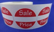 "200 Sales Price Self-Adhesive Labels 1"" Stickers / Tags Retail Store Supplies"