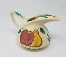 Vintage ART DECO PUMPKIN GOARD WATER JUICE JUICE PITCHER ANTIQUE