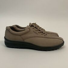 Hotter • Tone Std Women's Light Brown Nubuck Leather Lace Up Shoes • Size 5.5