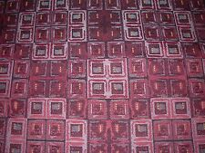 "~5 2/8 YDS~""MODERN RETRO BLOCKS""~ELEGANT WOVEN UPHOLSTERY FABRIC FOR LESS~"