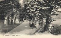 EARLY 1900's VINTAGE POSTCARD - LADIES WALK  at HYTH, Lehnert & Landrock PC