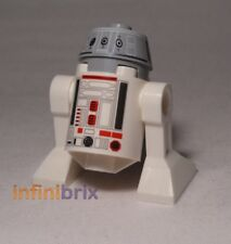 Lego R4-G0 from set 75018 JEK-14's Stealth Starfighter Star Wars Droid sw477 NEUF