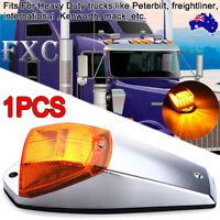 1X Amber Top Roof Light Cab Marker Lamp LED For Truck Trailer Peterbilt Kenworth