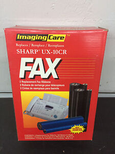 2 Count Box Sharp Compatible UX-10CR FAX RIBBONS NEW
