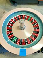 Paulson  Roulette Wheel 32 Inch (Used) #T0019 Single 0 00
