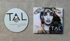 "CD AUDIO DISQUE / TAL À L'INFINI"" CD ALBUM DIGIPACK 19T 2014 WARNER 2564632525"