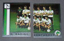 246 247 REAL RACING SANTANDER PANINI LIGA FUTBOL 87 ESPAÑA 1986-1987 FOOTBALL