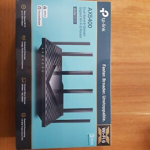 Tp Link Ax5400 Wifi Router NEW