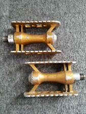 """SR SP-451 Pedals BMX Gold 1/2"""" Schwinn GT Hutch GJS"""