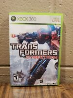 Transformers: War for Cybertron No Manual Microsoft Xbox 360, 2010