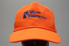 CITY OF PORTLAND - OFFICE OF TRANSPORTATION - ADJUSTABLE SLIDER BALL CAP HAT!