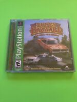🔥 PS1 PlayStation 1 PSX GAME 💯 COMPLETE WORKING GAME 🔥DUKES OF HAZZARD 🔥