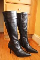 The Look Randolph Duke Women's Detachable Midcalf/Ankle Boots Size 8W (BOT1300BO