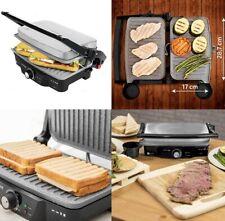 Grill contacto parrilla electrica,sandwichera,plancha,1500W,revestimiento piedra