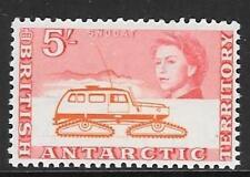 BRITISH ANTARCTIC TERR. SG13 1963 5/- ORANGE & RED MNH
