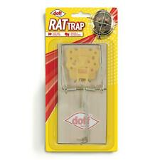 Doff Classic Style Wooden Rat Trap, Pest/Rodent Control, Indoor & Garden, Single