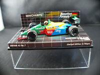 Minichamps Benetton Ford B188 #20 Herbert 1989 Ed.43 n° 7 MIB