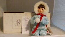 Hamilton Collection Porcelain dolls - Winter Angel Doll