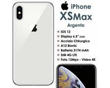 Apple iPhone XS MAX 256GB Bianco Silver LTE Ex Demo