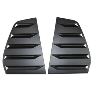 Pair Side Window Louver Windshield Sun Shade Cover Fit For VW Golf MK7 2014-2019