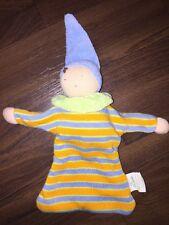 Schmusetuch Kuscheltuch Schnuffe Orange Grün Blau Frottee Puppe Alana dm Waldorf