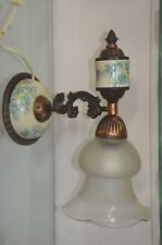 vintage USSR big and heavy lamp sconces for wall mounting 1980