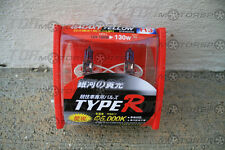 JDM TYPE-R H3 WHITE 5000K Halogen Head/Fog Light Bulbs