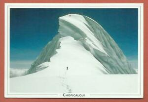 Postcard & Photo - 2 used - Peru - Chopicalqui - Cordillera Blanca