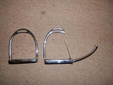 ANTIQUE GENTS SPRING LOADED MILITARY?  SAFETY STIRRUP IRONS.