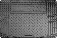 Sakura Black Heavy Duty Durable Waterproof Rubber Car Boot Protection Liner Mat