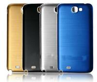 Brushed Metal Back Battery Cover Door Case Cover For Samsung Galaxy Note 2 N7100