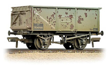 Bachmann 37-253B 16T Mineral Wagon BR Grey (Weathered)  OO Gauge