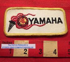 Vtg Yamaha Motorcycle Biker Vest / Jacket Patch Emblem C63C